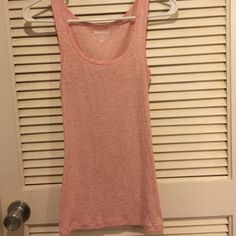 Old Navy Tank top Pink speckle tank from Old Navy. Very good condition. Old Navy Tops Tank Tops