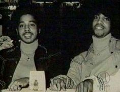 Morris Day and Prince back in high school.