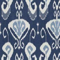 ikat+fabric+upholstery   ... End Kravet Echo Bansuri Ikat Blue White Upholstery Fabric BTY   eBay