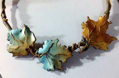 Foglie d'autunno in polymer clay