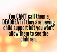 """'BUT YOU WON'T ALLOW..."""" Alienators are so guilty of doing this and trash talking their child's other parent to anyone who will listen to their lies...."""