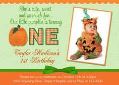 pumpkin invite
