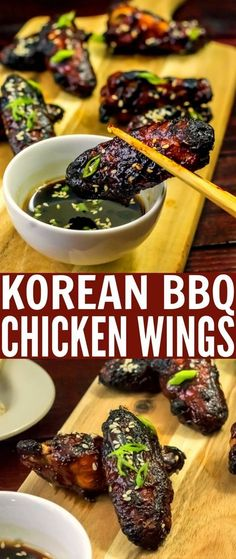 Spicy and flavorful, these Korean Barbecue Chicken Wings recipe make a great choice for an appetizer. So much more than your typical wings, these Korean inspired baked chicken wings have a complex flavour profile that is addictive.