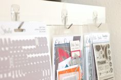 Meghann Andrew shares her creative space on the Elle's Studio blog!
