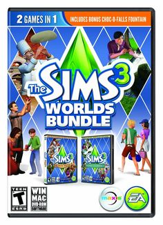 Sims 3 Worlds Bundle PC