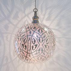 Filigree Sphere in House+Home HOME+DÉCOR Lighting at Terrain