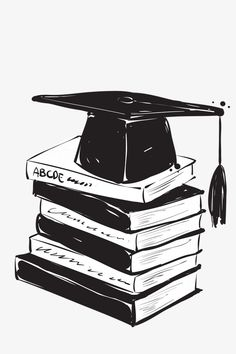 book,hat,Bachelor cap,Graduation Season element