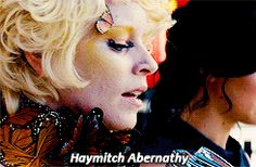 At that moment Effie was relieved, but Katniss knew that Peeta would volunteer. #CatchingFire