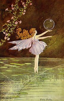 Ida Rentoul Outhwaite (I guess. I don't know anything about this artist but really like this)