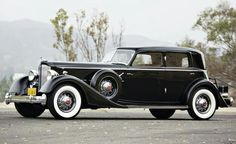 1934 Packard Sport Sedan.