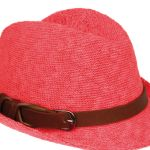 Coral knitted coral trilby R150 Foschini