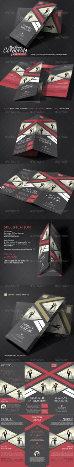 Corporate Pamphlet Template