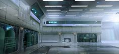 interior halo concept google space station backgrounds wars star futuristic epic cool spaceship room spacestation