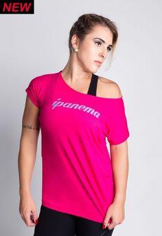 Camisa Ipanema Pink - Empírica Fitness