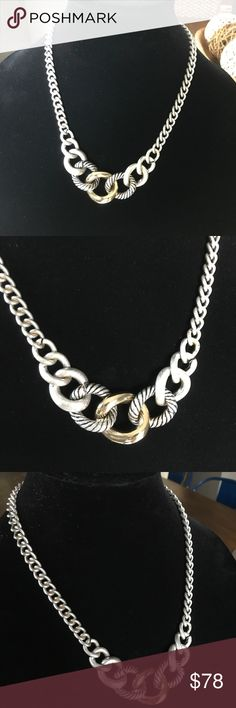 Stainless Steel modern NOT David Yurman Chain Stainless Steel Modern David Yurman Look Like Chain Jewelry Necklaces