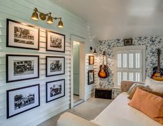 I recently discovered White's Merchantile Room & Board after reading the latest issue of Country Living magazine. Holly Williams, a Nashv. Holly Williams, Country Living Magazine, Black And White Wallpaper, White Rooms, Farmhouse Chic, Rustic Chic, Cottage Homes, Cottage Style, Architecture