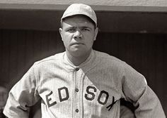 "Babe Ruth made his major league debut when he appeared as a starting pitcher    for the Red Sox on July 11, 1914. In 1936, ""the Bambino"" became one of    five players elected to the Baseball Hall of Fame. He is regarded as one of the     greatest sports heroes in America."