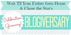 Blogiversary giveaway - Love these blogs and they are having a giveaway.