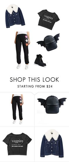 """Untitled #124"" by katrinastarring on Polyvore featuring Wildfox, Current Mood, MANGO and Liliana"