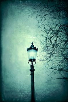Victorian lamppost - London