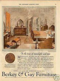 1927 Ad For Berkey And Gay
