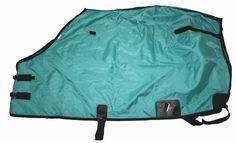 420 Denier Horse Stable Sheet Open Front Teal Green by AJ. $38.00. Hood rings. Reinforced leg straps. Adjustable and removable belly strap and leg straps. 420 Denier durable water resistant nylon. Double front opening with adjustable buckles. 420 Denier nylon stable sheet. Teal Green with black trim. To Measure Your Horse: Use a soft fabric tape measure from the center of your horse's chest (where the bas e of the neck meets the chest), come around the widest ...
