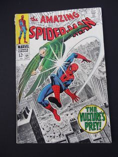 Amazing Spider-Man #64! Silver Age! 1968! Marvel! Stan Lee! John Romita! Vulture