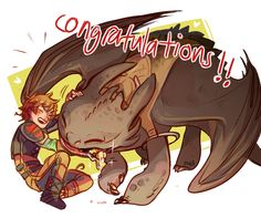 Congratulation How to train your dragon 2!!