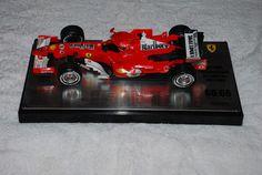 Modello scala 1/18 in edizione limitata della Ferrari F248 con targa autografata con le date delle 66 pole posistion di Michael Schumacher.Il modello fa riferimento all'ultima pole del 7 volte campione del mondo a Imola. In fase successiva sono state applicate le decals del tabacco.