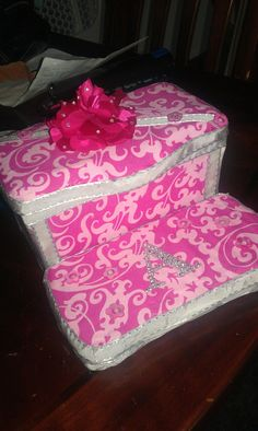 Pink baby wipe case