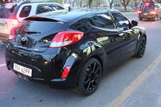 Veloster Preto Veloster Turbo, Hyundai Veloster, Car Rims, Rims For Cars, Motor Car, Wheels, Bmw, Vehicles, Clothes