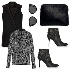Layer a cozy turtle neck with #rachelzoe Kendra Tuxedo Dress