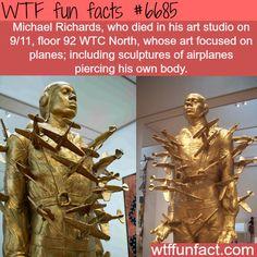 Michael Richards' sculpture - WTF fun fact