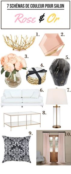 Pink And Marble Sitting Room Design Color Scheme Ideas Living Room Design color schemes Living Room Design color schemes Good Living Room Colors, Living Room Color Schemes, Colour Schemes, Living Room Designs, Decoration Chic, Rustic Chic Decor, Living Room Interior, Living Room Decor, Bedroom Decor