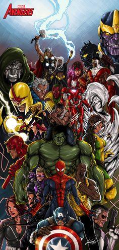 Avengers - Universo Marvel