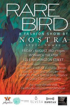 Rare Bird Fashion Show