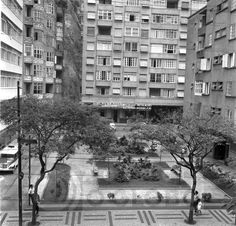 Sara Kubitschek Square, Copacabana, Rio de Janeiro, 1960. I lived the first 13 years of my life in a skyscraper across the street from this public square.