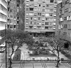 Fotos antigas do Rio de Janeiro - Praça Sara Kubitschek - 1960
