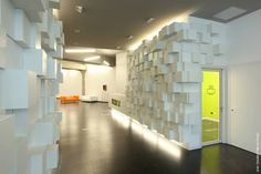 Toolbox - Torino Office Lab and Co-working - Premio Architetture Rivelate 2012 - Torino, Italy - 2010 - Caterina Tiazzoldi Corporate Interiors, Office Interiors, Interior Office, Door Design Interior, Interior Decorating, Modern Office Design, Modern Offices, Co Working, Commercial Interiors