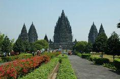 Prambanan temple, central java, indonesia