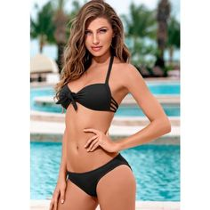 Venus Sweetheart Push Up Bikini ( 36) ❤ liked on Polyvore featuring  swimwear e5b649e866