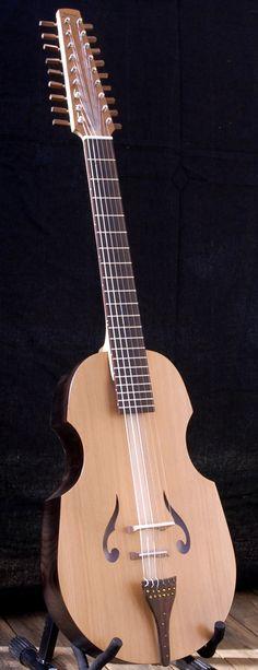 Philippe Berne Banjo Guitar