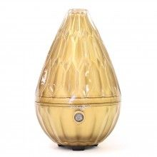 AromaGem in Gold - saje essential oil diffuser Saje Essential Oils, Natural Essential Oils, Essential Oil Diffuser, Condo Living Room, Candle Diffuser, House Styles, Gem, Clary Sage, Wellness