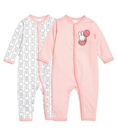H&M: 2 kpl pyjamia roosa/Miffy, tuotenumero 55-5870, koko 86. 17,99 €