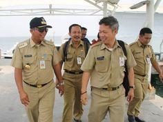 Budi Utomo dan jajaran tiba di Pulau Untung Jawa
