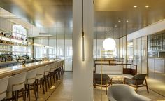 For designers Lyndon Neri and Rossana Hu, the task of renovating Jean-Georges Vongerichten's Shanghai outpost is a full circle moment, having worked on the original interiors in 2004. For habitués of the restaurant, the spruce up is a fairly dramatic t...