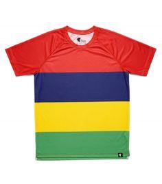 #LesQuatresBandes - Hoopoe running apparel. #hoopoerunning #mauritiusisland #fancyshirts #runwithstyle