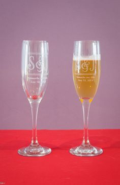 Factory eXperience - Engrave Champagne Flutes *NEW*