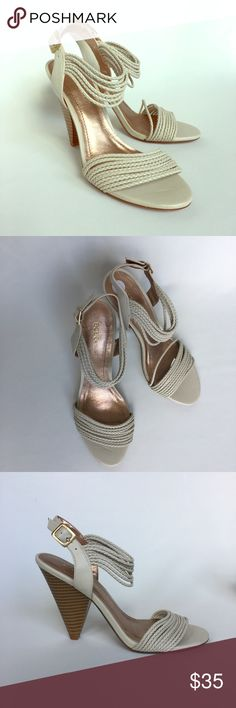 BCBG Generation Berkeley pump, Beige color, sz 7B New without box BCBG pump in Beige color, super cute ! Mid heels! BCBGeneration Shoes Heels