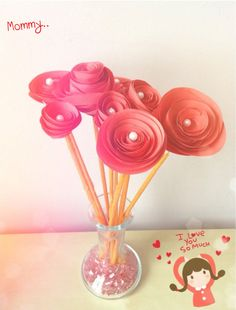 Mother's Day DIY gift idea....because I wish roses would last forever. Great Idea.!!!